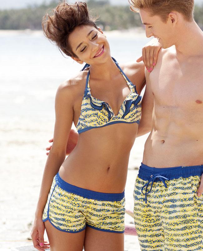 泳衣海洋动物女士沙滩裤im64l32